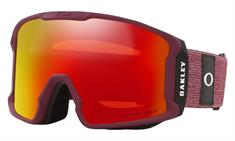 OAKLEY Line Miner XL Heathered Grenache Grey goggle bordeau