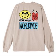 Obey Acid Crash heren sweater wit