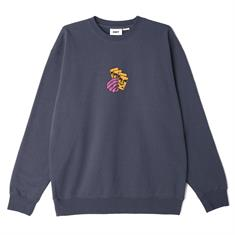 Obey All In Crew heren sweater marine