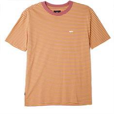 Obey Apex Tee heren shirt oranje