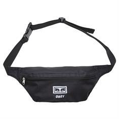 Obey Daily sling pack heuptasje zwart