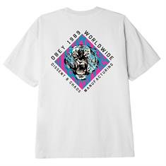 Obey Dissent & Chaos heren shirt wit