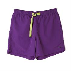 Obey Easy Relaxed Trek Short heren casual short paars