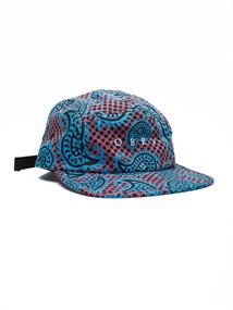Obey Eisley 5 Panel caps blauw