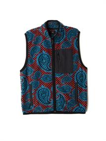 Obey Eisley Mock Vest heren sweater blauw
