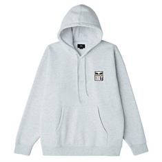 Obey Eyes Icon 2 heren sweater midden grijs