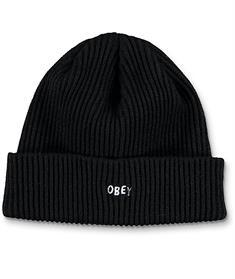 Obey Hangman Beanie muts skate/snow zwart