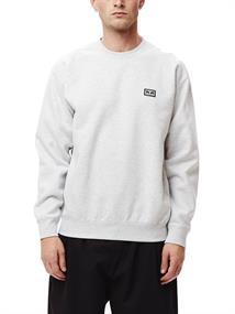 Obey nouvelle II Crew heren sweater midden grijs