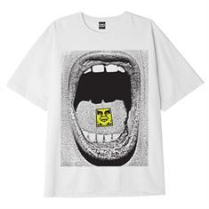 Obey Scream heren shirt wit