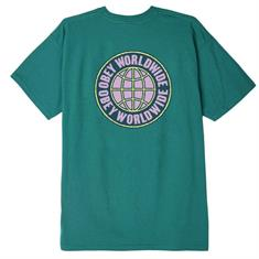 Obey Unity Worldwide heren shirt blauw