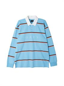 Obey Washer Classic polo heren sweater bleu