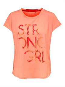 Only Emilia loose dames sportshirt oranje