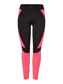 Only Feline Run Tights dames hardloopbroek lang pink