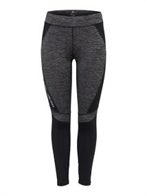 Only Feline Run Tights dames hardloopbroek lang zwart