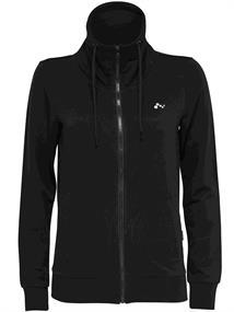 Only High neck sweat dames sportsweater zwart