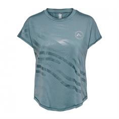 Only loose Fit Training Tee dames sportshirt petrol