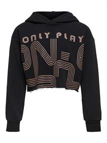 Only meisjes sweater taupe dessin