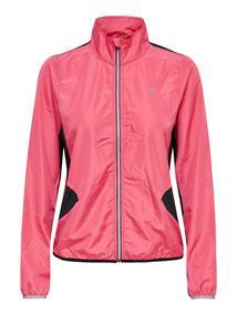 Only Melina Run Jacket dames hardloopjack pink