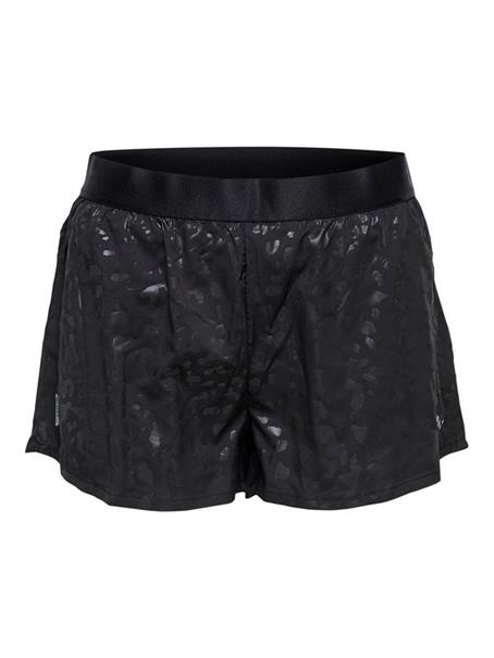 Only Pepper Short dames sportshort zwart