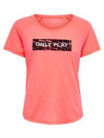 Only Tika Regular dames sportshirt pink