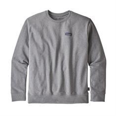Patagonia Crew Sweatshirt heren casual sweater midden grijs