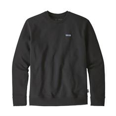 Patagonia Crew Sweatshirt heren casual sweater zwart