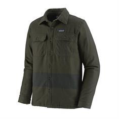 Patagonia Insulated Fjorf Flannel Jacket heren wandelblouse donkergroen