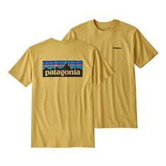 Patagonia Logo Resp.Tee heren shirt oker