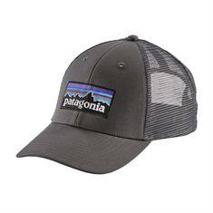 Patagonia Logo Trucker Hat caps antraciet