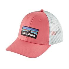 Patagonia Logo Trucker Hat caps pink