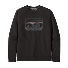 Patagonia M's 73 Skyline Organic heren casual sweater zwart