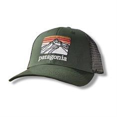 Patagonia P-6 Logo LoPro Trucker Hat caps donkergroen