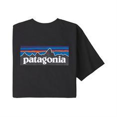 Patagonia P-6 Logo Pocket Responsibili heren shirt zwart