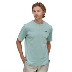 Patagonia P-6 Logo Tee heren shirt blue