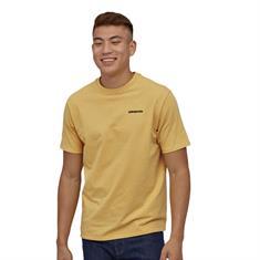 Patagonia P-6 Logo Tee heren shirt oker