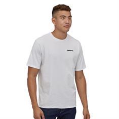Patagonia P-6 Logo Tee heren shirt wit