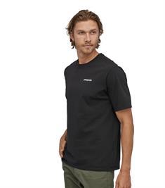 Patagonia P-6 Logo Tee heren shirt zwart