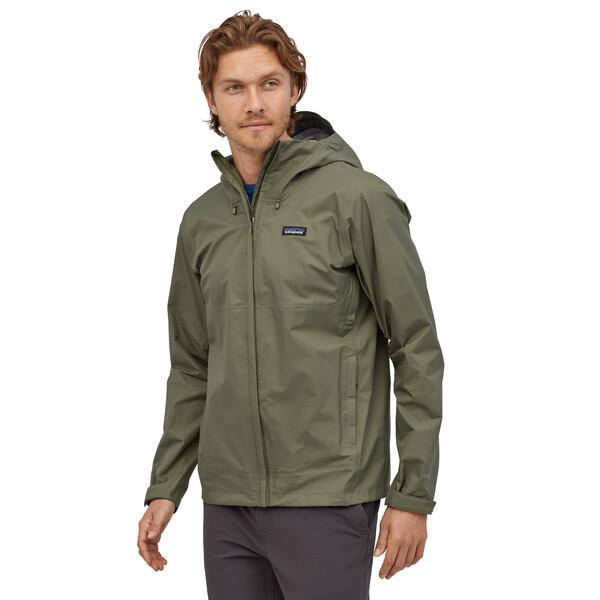 Patagonia Torrentshell 3L heren zomerjas groen