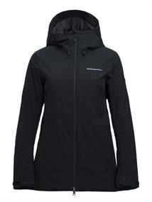 Peak Performance Anima Long dames ski jas zwart