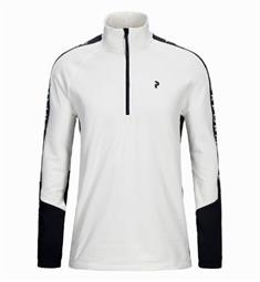 Peak Performance Ride Half Zip heren ski pulli wit