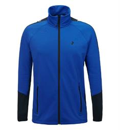 Peak Performance Ride Zip heren ski pulli kobalt