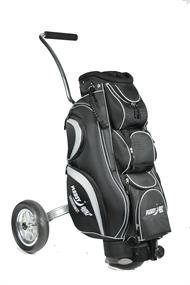 Pleasy Golf Kar + Incl. Vaste Tas golf kar zwart