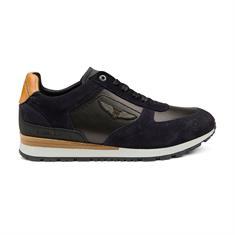 PME LEGEND Lockplate heren sneakers marine