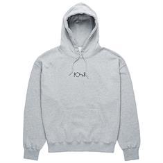 Polar American fleece heren sweater midden grijs