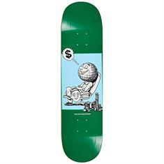 Polar Oskar Rozenberg Profit 8.25 skateboard donkergroen