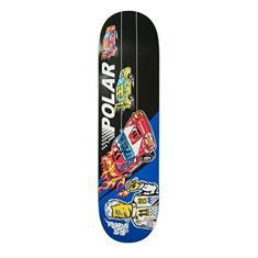 Polar skateboard zwart