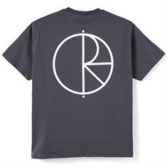 Polar Stroke Logo Tee heren shirt antraciet