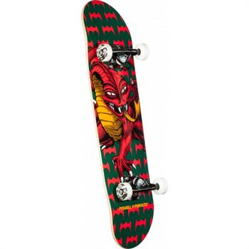 Powell Cab Dragon One 7.75 Skateboard ZWART