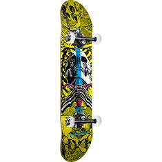 Powell Skull & Sword 7.5 skateboard zwart