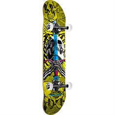Powell Skull & Sword 7.5 skateboard zwart